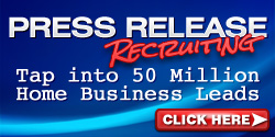 Press Release Recruiting Webinar & Members Only Site