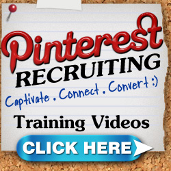 Pinterest Recruiting Webinar & Members Only Training