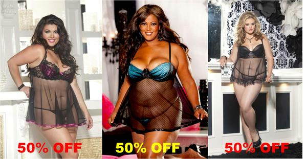 Plus Size Lingerie Sale