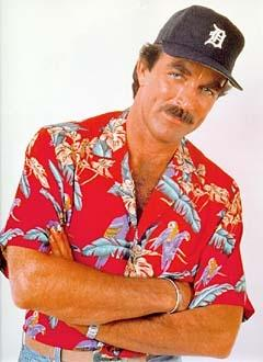 Magnum in the red jungle bird Magnum PI Shirt