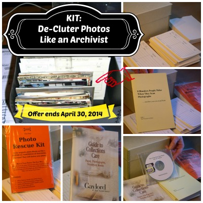 De-Clutter Kit Available Now thru 4/30/14