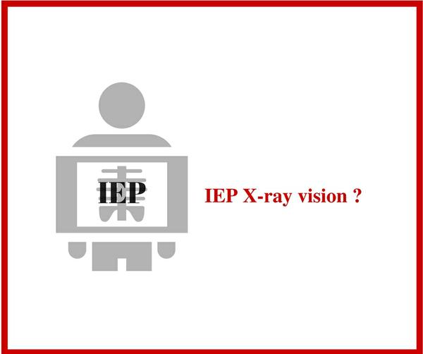 IEP X-ray Vision?