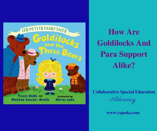 How Are Goldilocks and Para Support Alike?