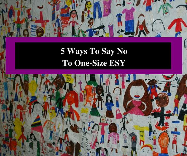 5 Ways to Say No to One-Size ESY