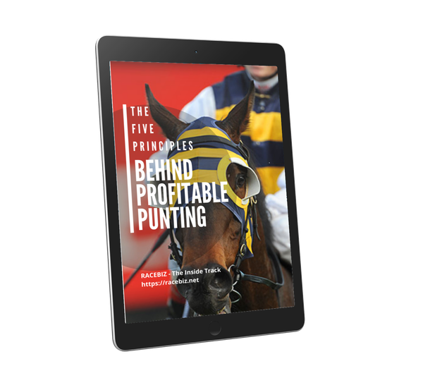front cover for The Five Principles behind Profitable Punting