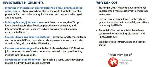 Ifrtf Mexico Oil Jackpot