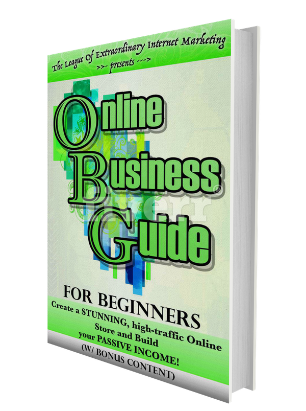 Signup For A FREE EBOOK, Online Business Guide For Beginners