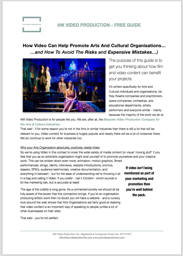 AW_Video_Production_FREE_GUIDE_-_How_Video_can_help_promote_Arts_and_Cultural_Organisations_v1.1_-_Screen_Grab.png
