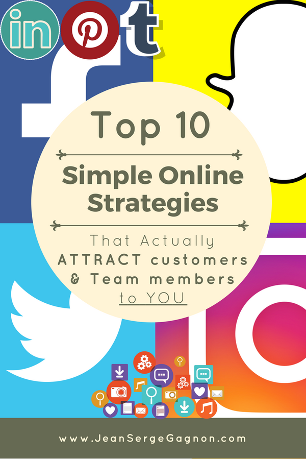 Get your copy of the Top 10 Simple Online Strategies