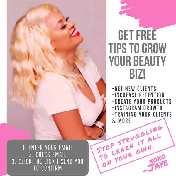 Jaye's Free Beauty Biz Tips