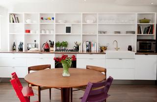 Stylish kitchen - storage style