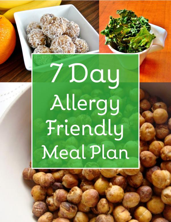 Get your free 7 Day Allergy Friendly Meal Plan!