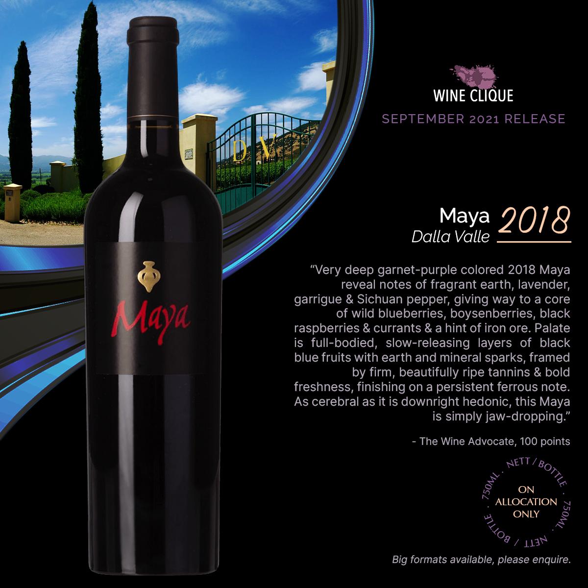 September 2021 Release: Caiarossa, Dalla Valle Maya