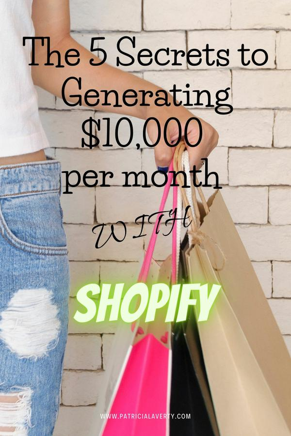 How to Generate $10k+ With Shopify