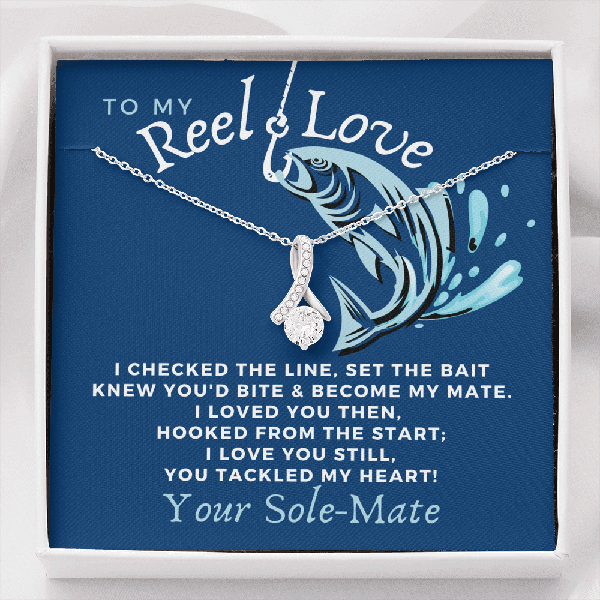 Reel Love Necklace