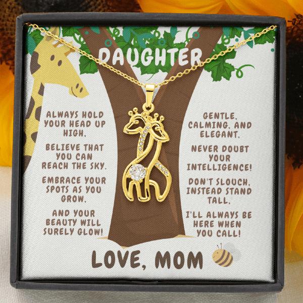 Giraffe Necklace - Mom