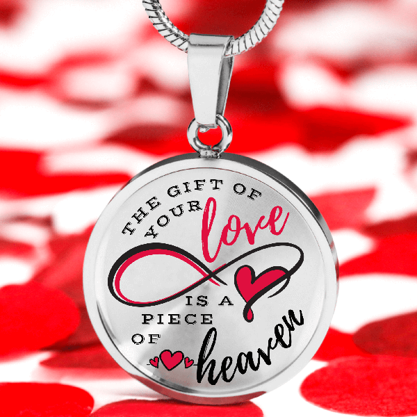 Your Love Is Like Heaven Necklace