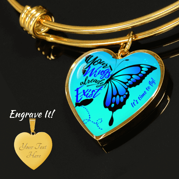 Wings To Fly Necklace