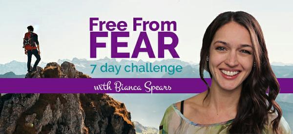 Free From Fear Challenge - Bianca Spears
