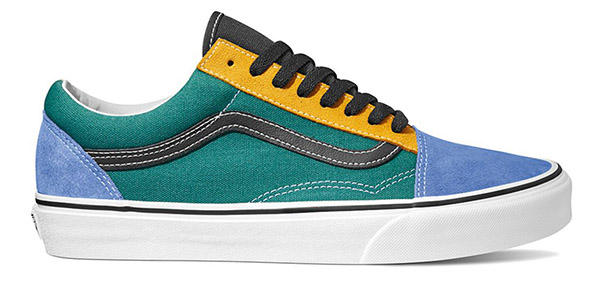 Vans Old Skool (Mix and Match) Yellow Tidepool