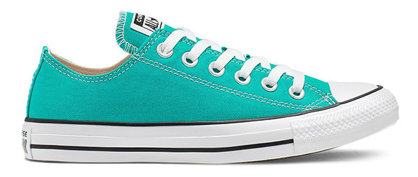 Converse Chuck Taylor All Star Low Top Turbo Green Teal