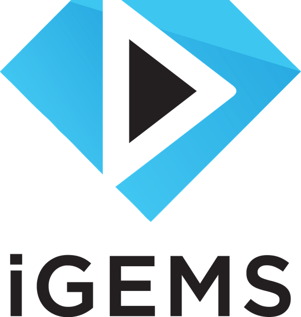 Black & Light Blue - CMYK - iGems Logo.png