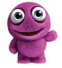 purple beastie