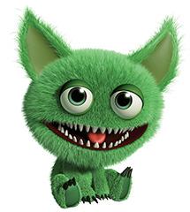 green beastie