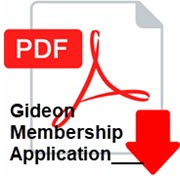 Gideon Member Application