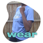 wear - person wearing a club shirt