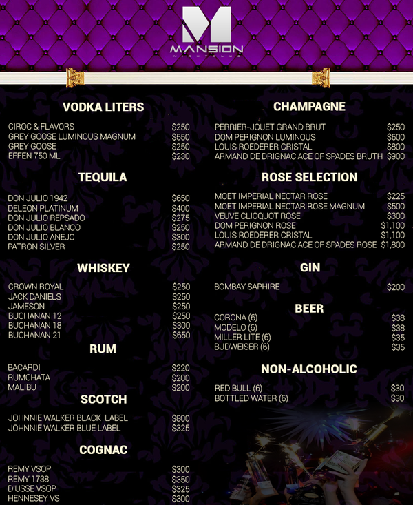 Mansion Bottle Service Menu.png
