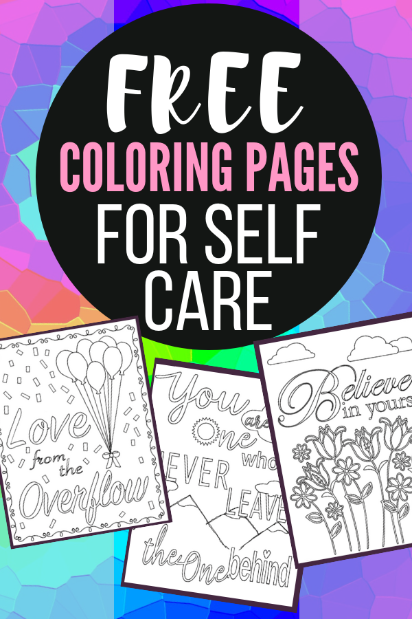 Calm Anxiety With Adult Coloring: Plus Free Coloring Pages - Mandy's DIY  Care