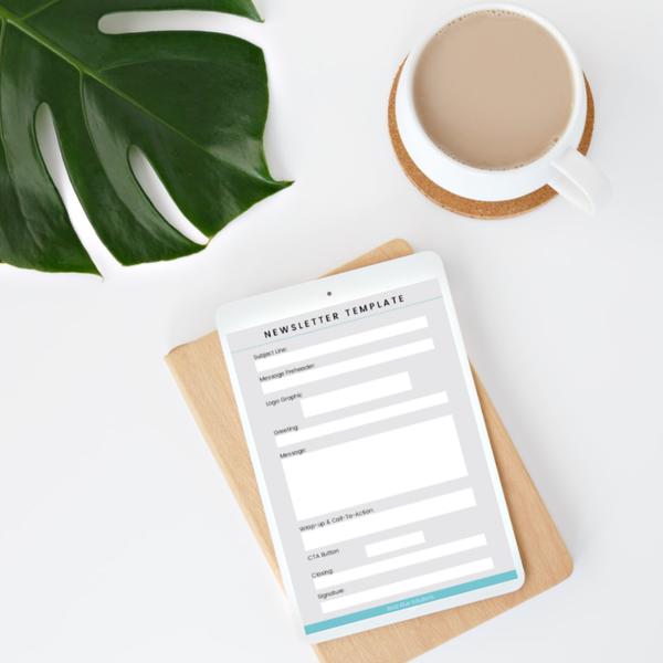 Email Newsletter Workbook | Bela Blue Solutions
