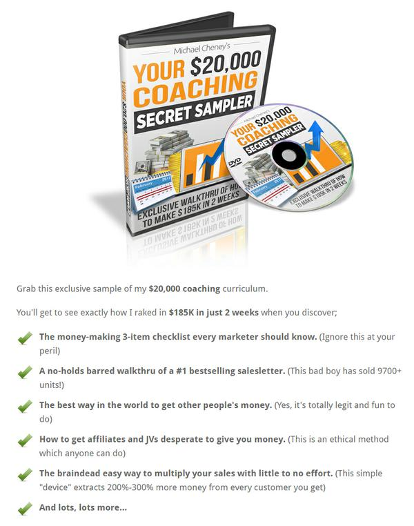 What Is The Easiest Way To Make Money Online? Your $20 000 Coaching Secret Sampler Is One Tool You Need