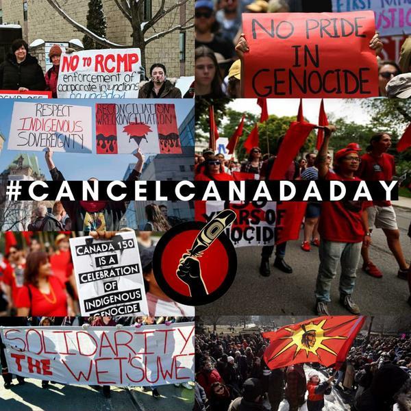 Cancel Canada Day Actions