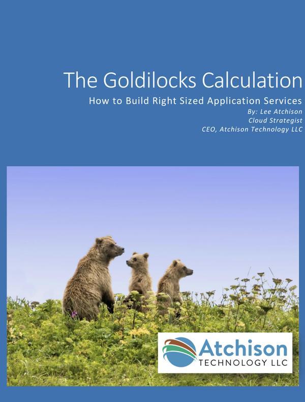 The Goldilocks Calculation