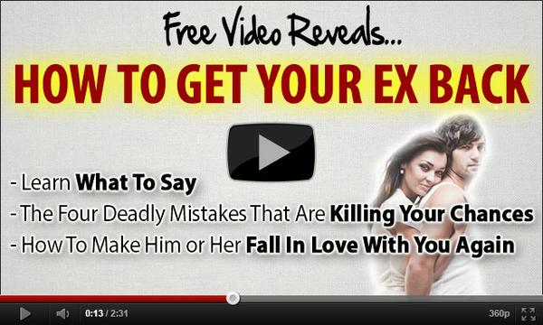 How To Get Your Ex Back - Presentation
