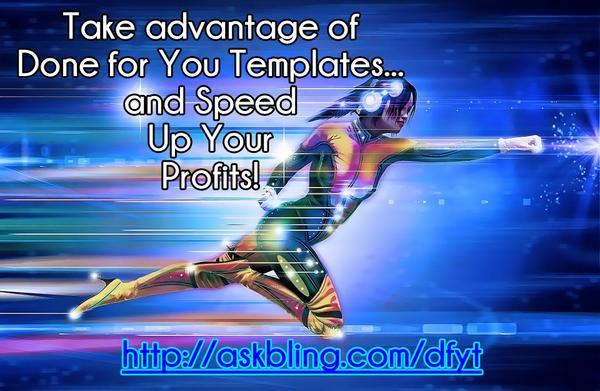 Done For You Marketing Templates!