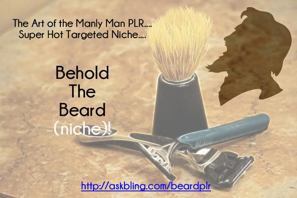 Manly Men Beard PLR!
