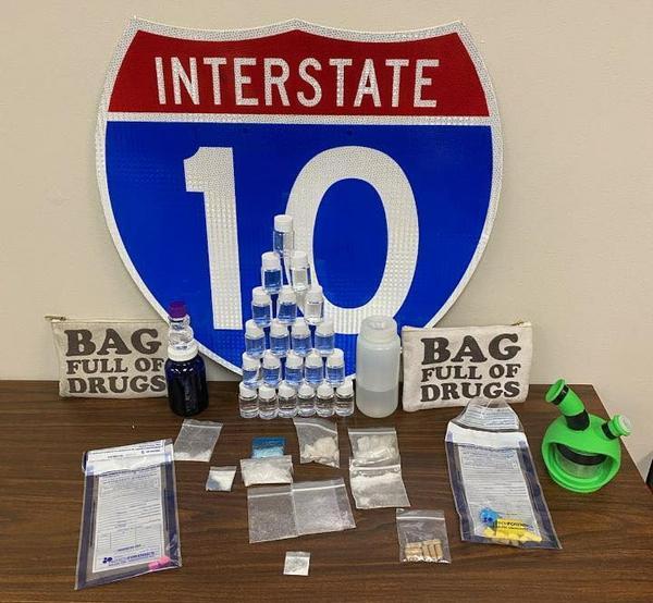 Bags of drugs.