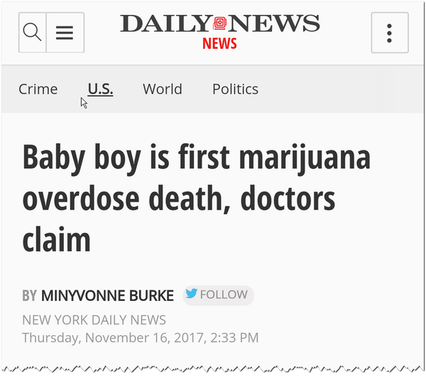 Example headline