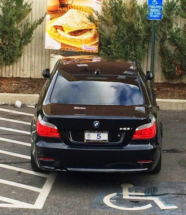 McGee's parking job