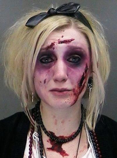 Catherine Butler zombie mug shot