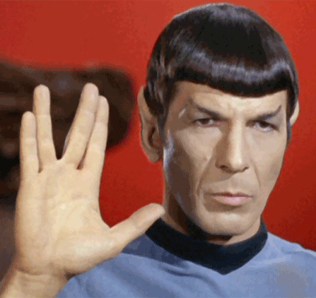 Nimoy as Spock