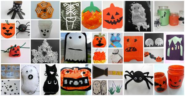 Halloween crafts at Activity Village