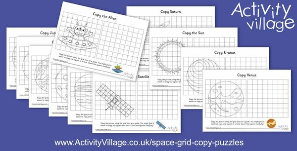 And a new batch of space grid copy puzzles