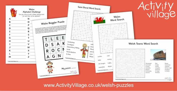 These new Welsh-themed puzzles might come in useful.