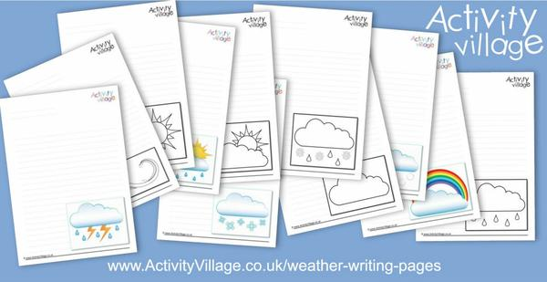 Useful weather writing pages