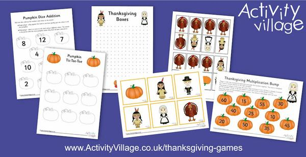 Fun new Thanksgiving games just added
