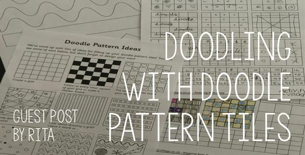 Guest Post - Doodling with our Doodle Pattern Tiles